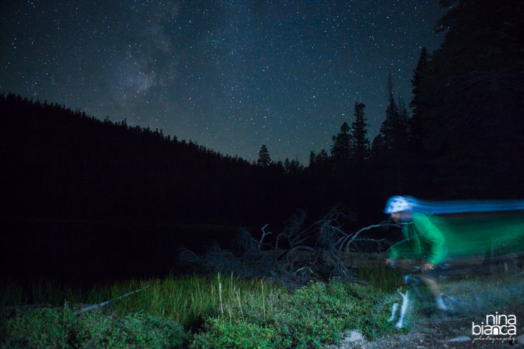 Night shots are my current obsession.  Coupling the grandeur of the night sky with action, I challenge myself as well as the most skilled of riders.   Watson Lake, California