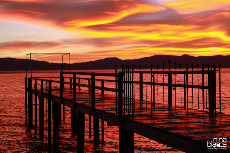 Waking up before sunrise is always worth it.  My favorite time of the day is from the hour before sunrise to about noon.   West Shore, Lake Tahoe, California