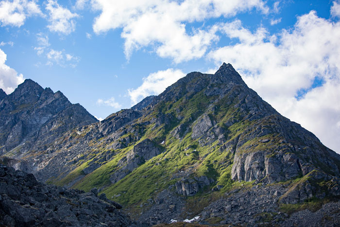 Archangel Valley in the Talkeetna Mountains
